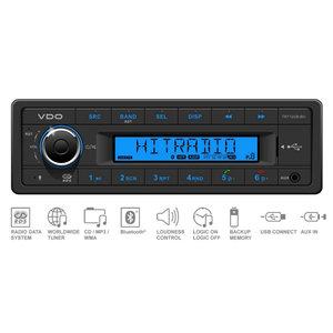12V FM RDS Tuner met MP3,WMA,USB,Bluetooth